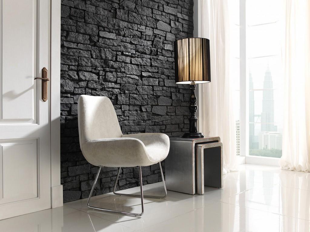 Steenpanelen natuurstenen muur uitstraling de graaf bv - Paneles imitacion piedra para interiores ...